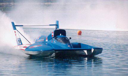 Wireless Radio Modem Technology Transmits Hydroplane Racing Data