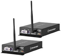 900 MHz and 2.4 GHz serial radio stand-alone modems